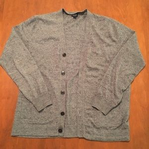 Women's J. Crew Gray Cardigan